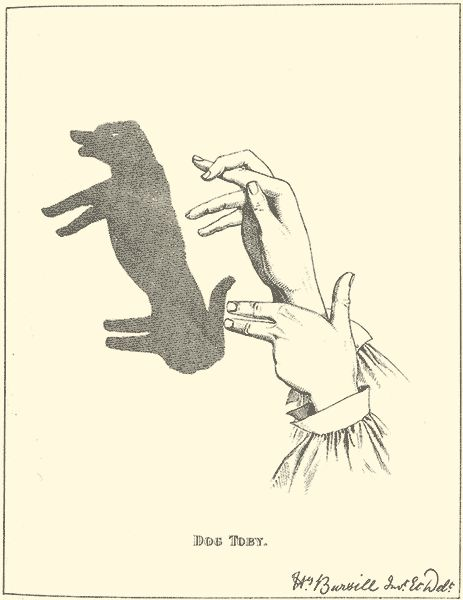 Shadow Hand Puppets - lots & lots of how to make amusing forms with your hands