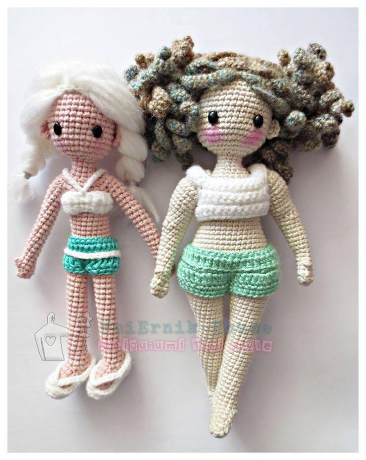 1481 best images about Crochet Doll Inspiration on Pinterest Girl dolls, Ya...