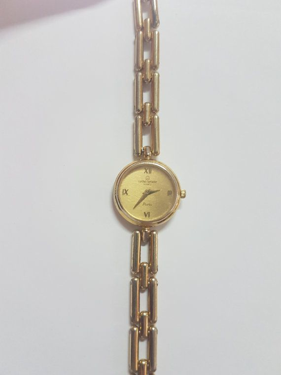 ITEM DESCRIPTION: This rare find is a brand new 1980s vintage Michel Herbelin watch. This watch was originally sold for $360.00. Dont miss this opportunity to own this rare and absolutely beautiful Michel Herbelin watch priced at a 25% discount from the 1994 official Michel Herbelin price guide. Imagine the value of this watch in todays dollars! Rarity, Value, & Customer Satisfaction: You will be hard pressed to find all of these ingredients any where else.     PRODUCT SPECIFICATIONS: BRA...
