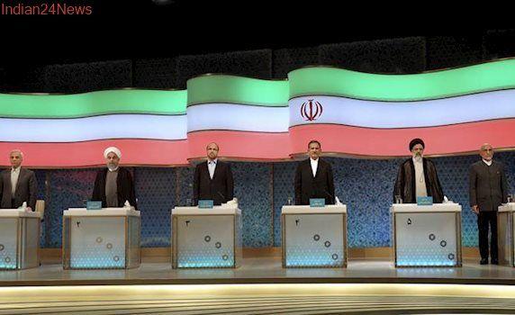 Iran: Tehran's mayor attacks President Hassan Rouhani in pre-election debate