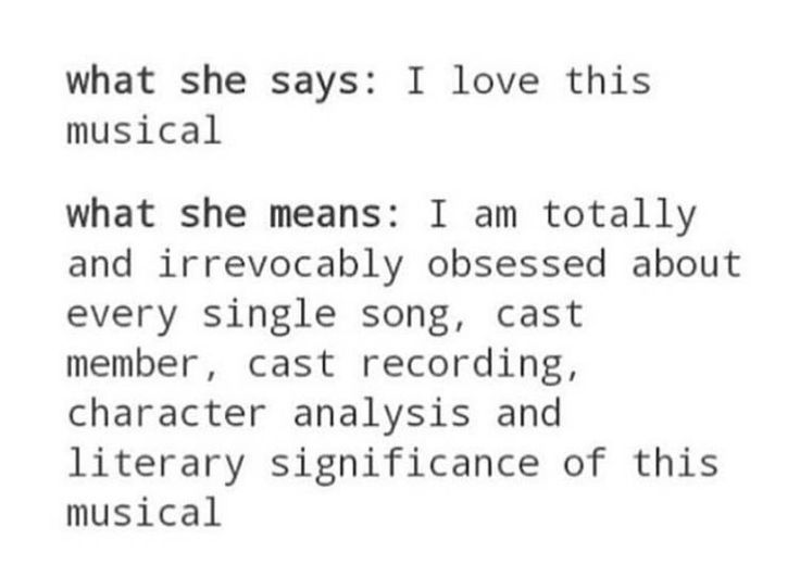 Accurate -Newsies, Hamilton, In the Heights...