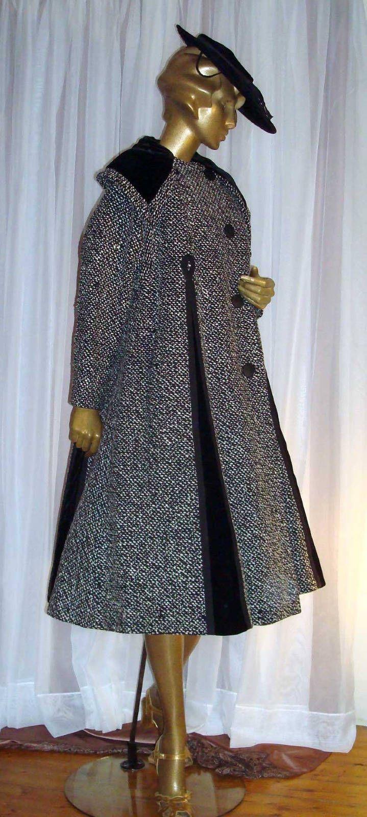 Lilli Ann swing coat