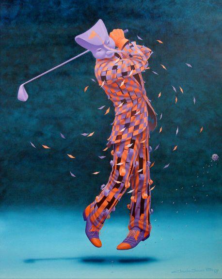 ''Golf'' Claudio Souza Pinto.