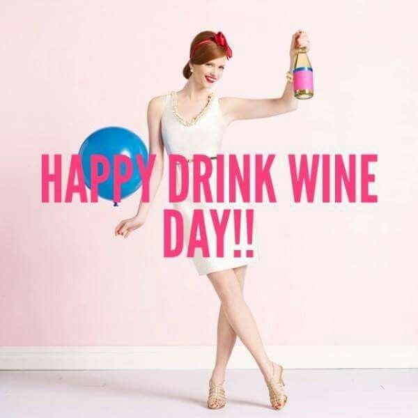 It's National Drink WINE Day