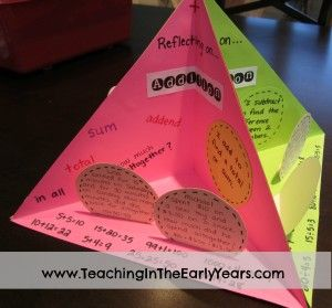 How to make a quadrama--could use this as a book project, math review review, social studies...