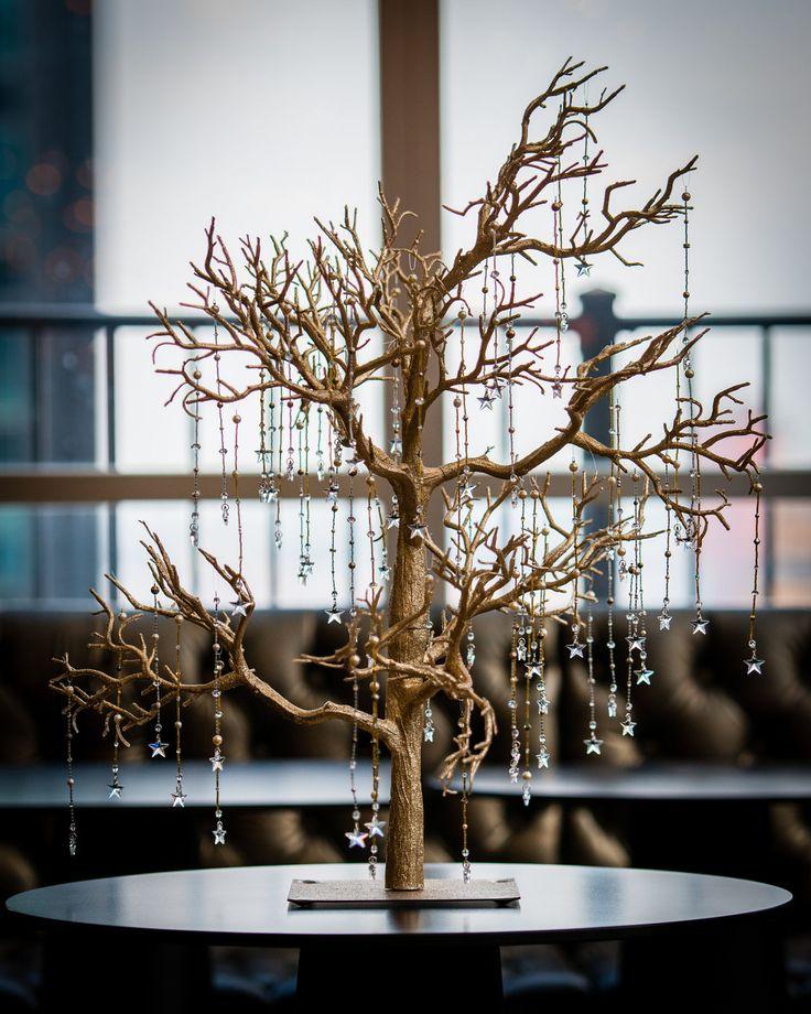 Wishing Tree / Whimsical Star / Wedding Favor / Wedding Decoration / Guest Book. $225.00, via Etsy.