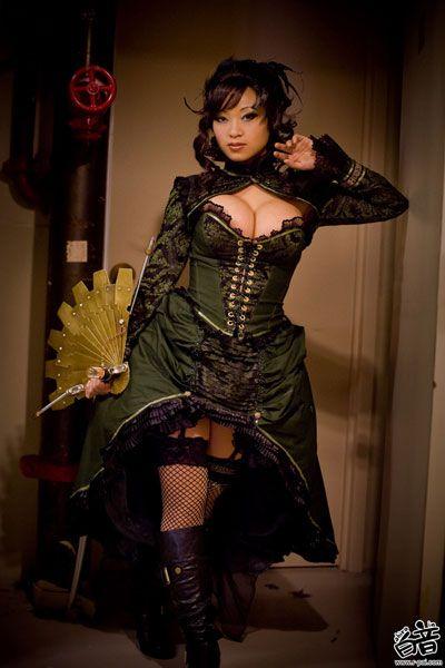 Hot steampunk porn cosplay