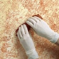 81 best images about paint tissue paper wall ideas on for Rag rolling painting ideas
