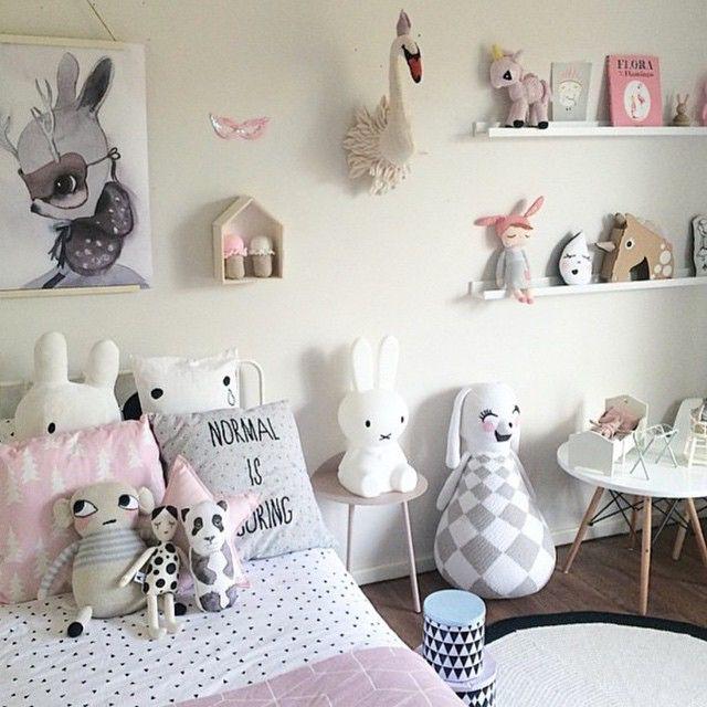 """Normal is boring"" Cute kids room inspo!"