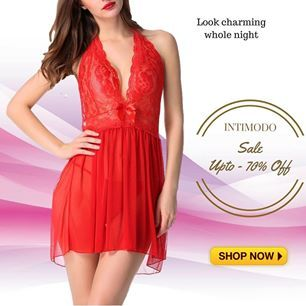Pure comfort #Babydolls & #NightWear..Pick your favourite starting Rs 349. Explore more⇢ #womenWear #InnerWear #OnlineShopping #Fashion