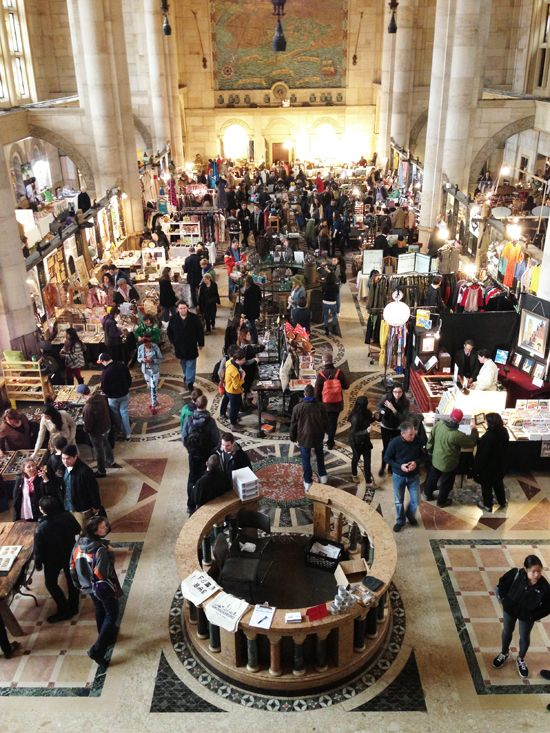 Brooklyn Flea New York  -- this is a must do!