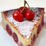 Gâteau aux cerises et au mascarpone - www.puregourmandise.com
