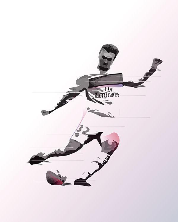 David Beckham on Behance
