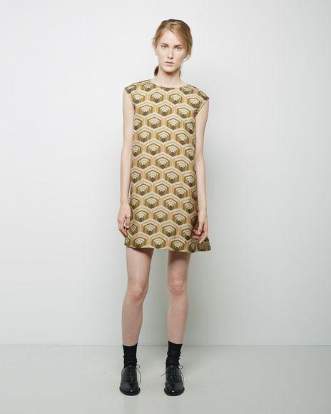 Charles Anastase | Stendhal Printed Silk Dress | La Garçonne