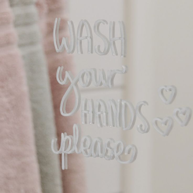 Wash your hands please, callighraphy, kalligrafi, bathroom, hearts, hjärtan, badrum, molban, annashjartan