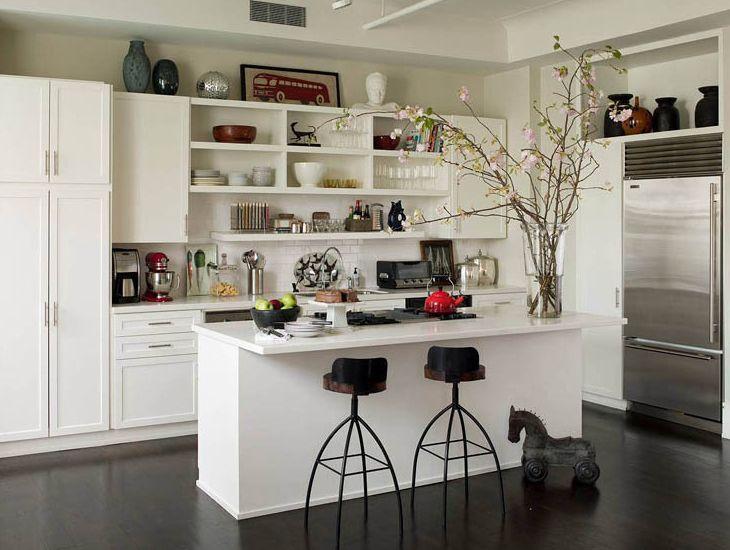 open cupboard designs kitchen google search - Tijdelijke Backsplash