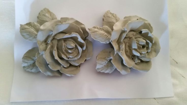 Cement Roses. Made to order. Hypertufa Heaven SA.