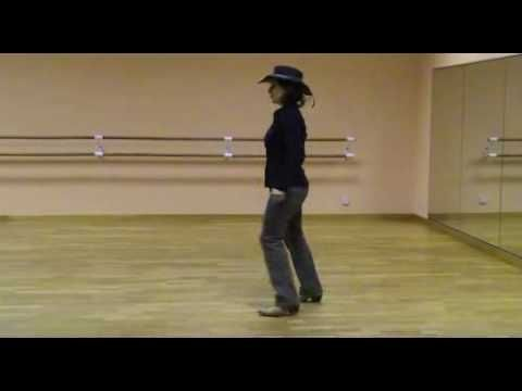 Fly By NIght, danse country débutant 4 murs, 32 temps, www.country-corner.fr - YouTube