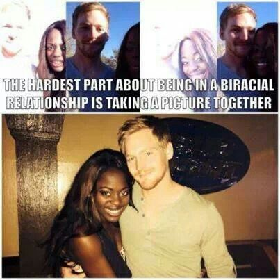 Interracial dating issues