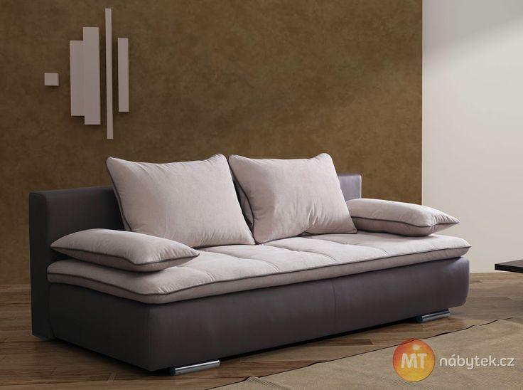 Komfortní dvoumístná pohovka Elvira, rozkládací #settee #sofa #divan #couch