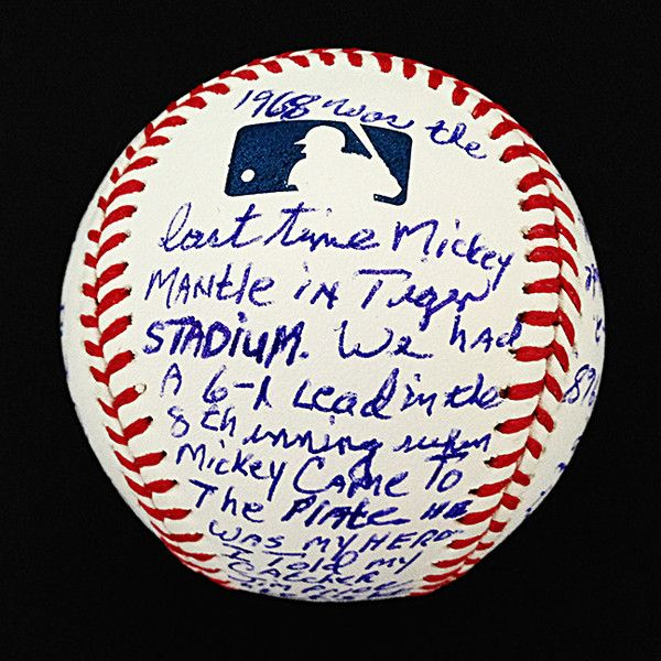 Mickey Mantle's 535th Home Run as told by pitcher Denny McLain...AWESOME!!!
