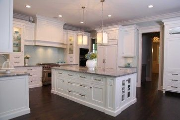 New England Style Home - traditional - exterior - chicago - Oakley Home Builders