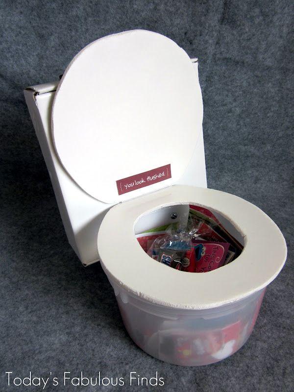 Flushing Toilet. great surprise idea