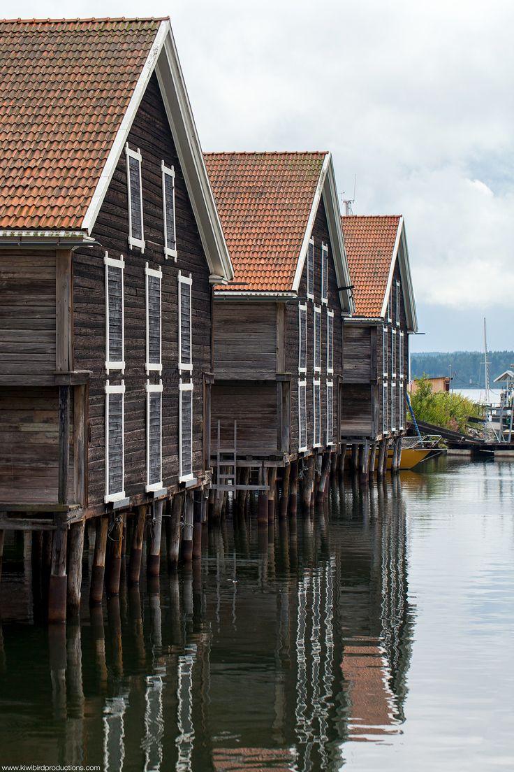 Hudiksvall Houses (via kiwibirdproductions.com)