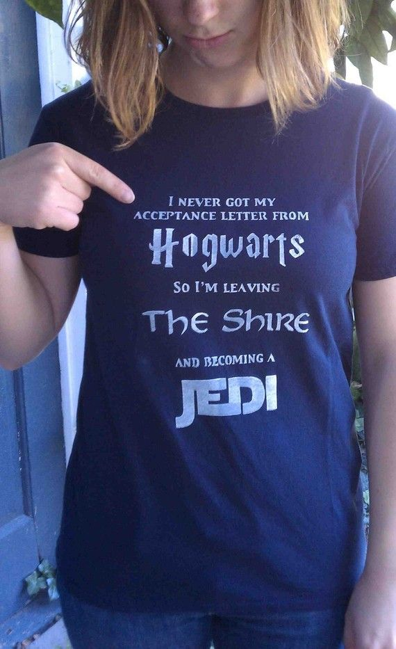 When you can't get into Hogwarts #harrypotter #lotr #starwars