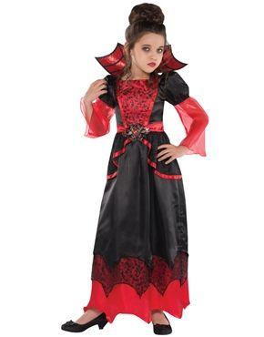 Vampire Queen Childrens Costume by Fancy Dress Ball