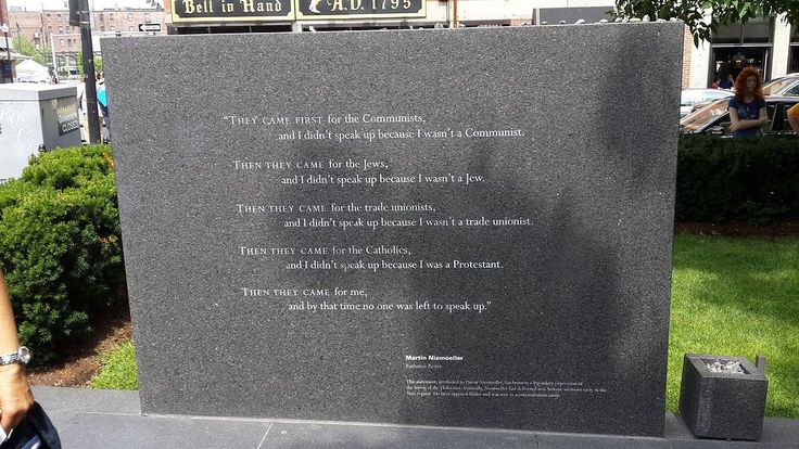 First they came ... - Wikipedia