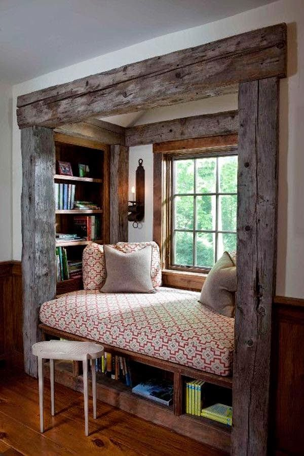 8 increíbles rincones de lectura para niños y grandes · 8 cozy reading nooks for kids and grown-ups
