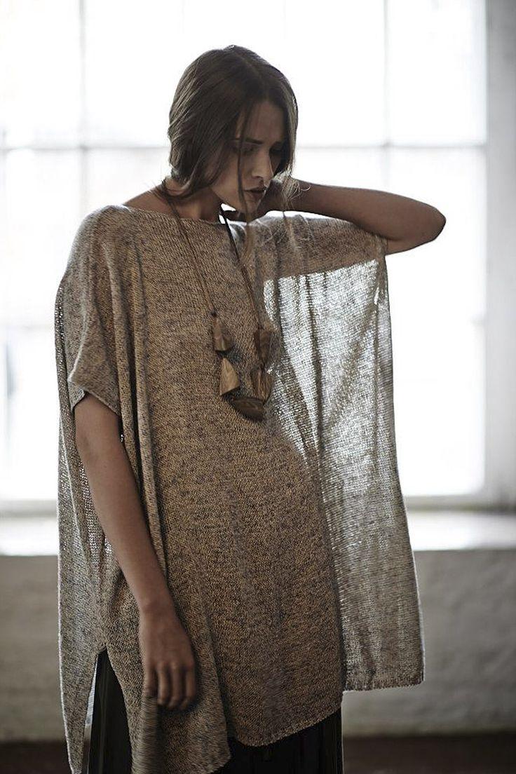 Купить ТУНИКА С разрезами ЭКО от Lesel (Лесель) российский дизайнер одежды