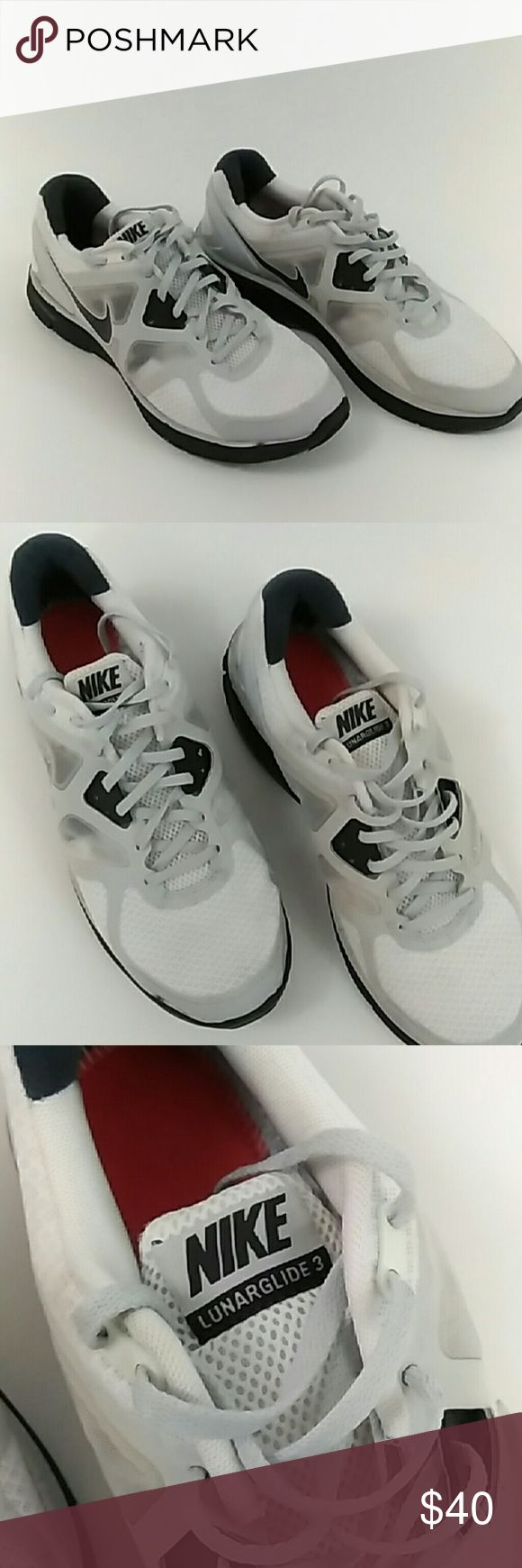 Nike Lunarglide 3 Used Nike Lunarglide 3 size 11.5. They have some flaws shown in pictures. Nike Shoes Sneakers
