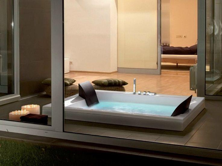 25 best ideas about baignoire encastrable on pinterest salle de bains avec - Baignoire spa jacuzzi ...