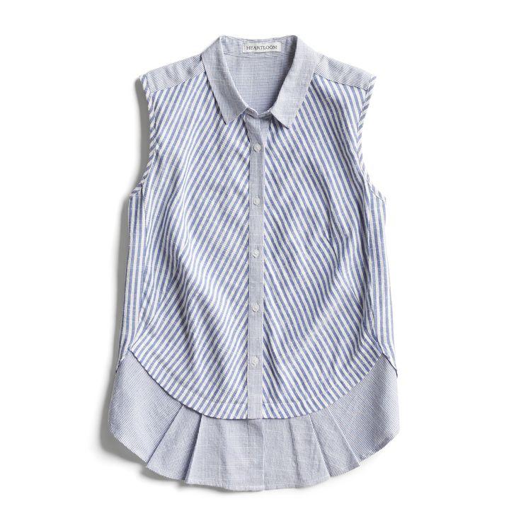 Spring Stylist Picks: Striped sleeveless blouse