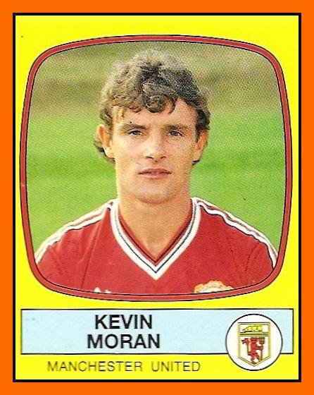 Old School Panini: UK Football Team - Manchester United 1987-88
