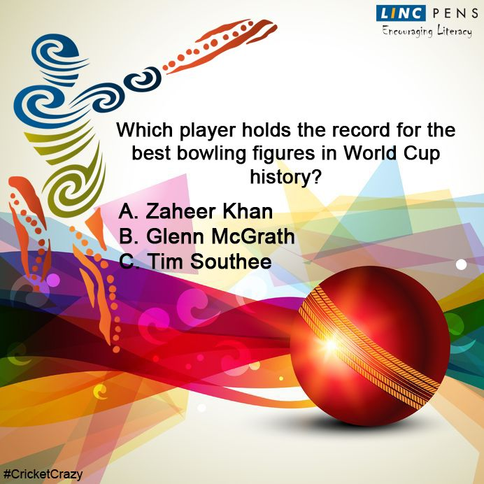 Question #24 ‪#‎CricketCrazy‬ ‪#‎WorldCup15‬