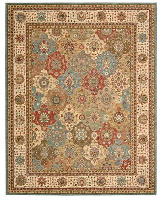 Nourison Rug, Created for Macy's, Persian Legacy PL01 Multi - Rugs - Macy's