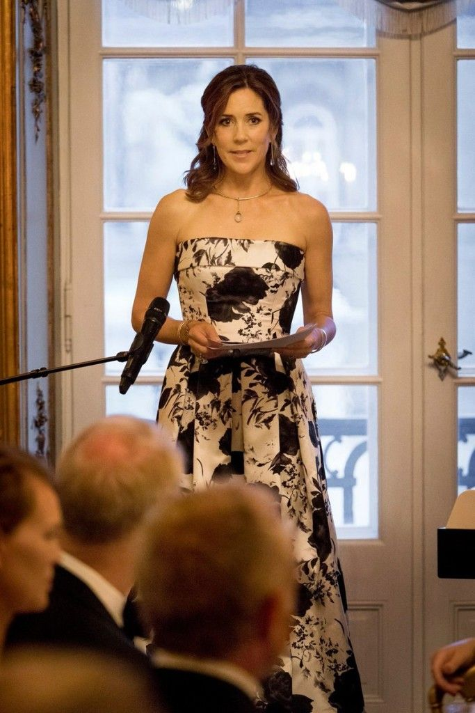Crown Prince Frederik & Crown Princess Mary attended a dinner for the 10th anniversary of Mary Fonden