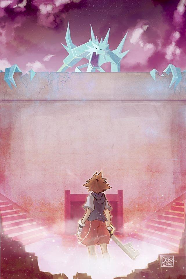 Kingdom Hearts - Attack on Titan crossover!!