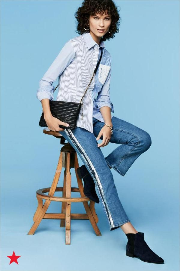 Can't go wrong with all denim! This casual, cool outfit from DKNY is our all-time fave and is super easy to accessorize. Shop it now on macys.com!