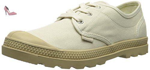 Palladium Pampa Oxford, Informelles femme, Blanc Cassé - Blanco, 39.5 - Chaussures palladium (*Partner-Link)