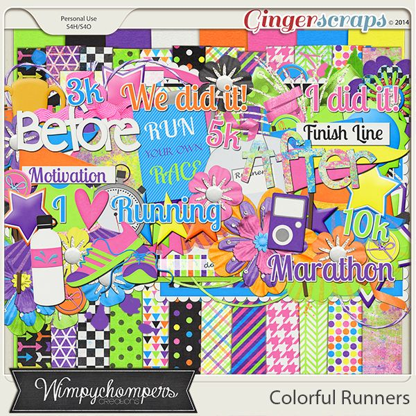 with all those color runs out there, this is a PERFECT kit with great colors!