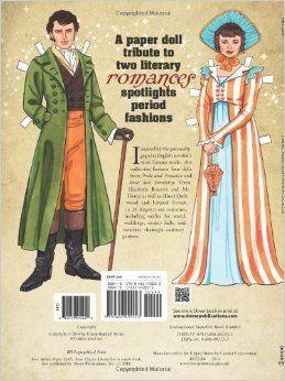Muñecos de papel para vestir de Jane Austen