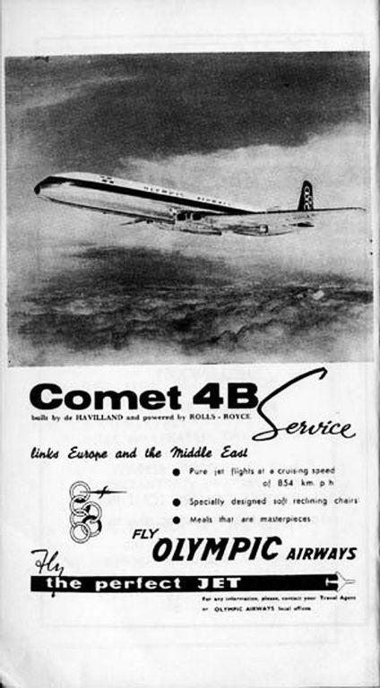 Olympic Airways Comet 4B