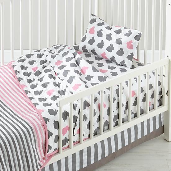 Hop to It Toddler Sheet Set (Bunnies)