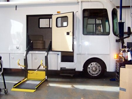 Wheelchair accessible RV!