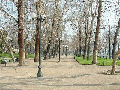 Santiago: Parque Forestal.