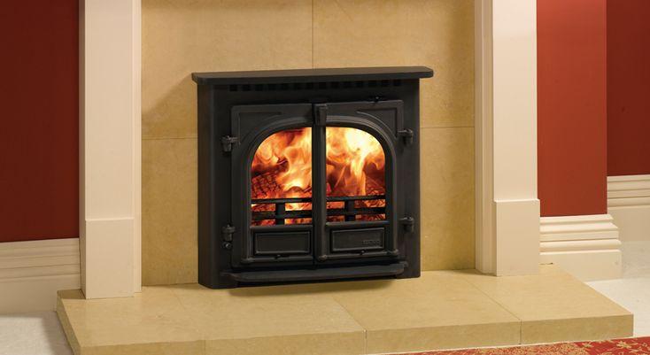 Gazco Stockton 8 Inset Wood Burning Fire at Fireplacce World Glasgow. http://www.fireplace-world.com